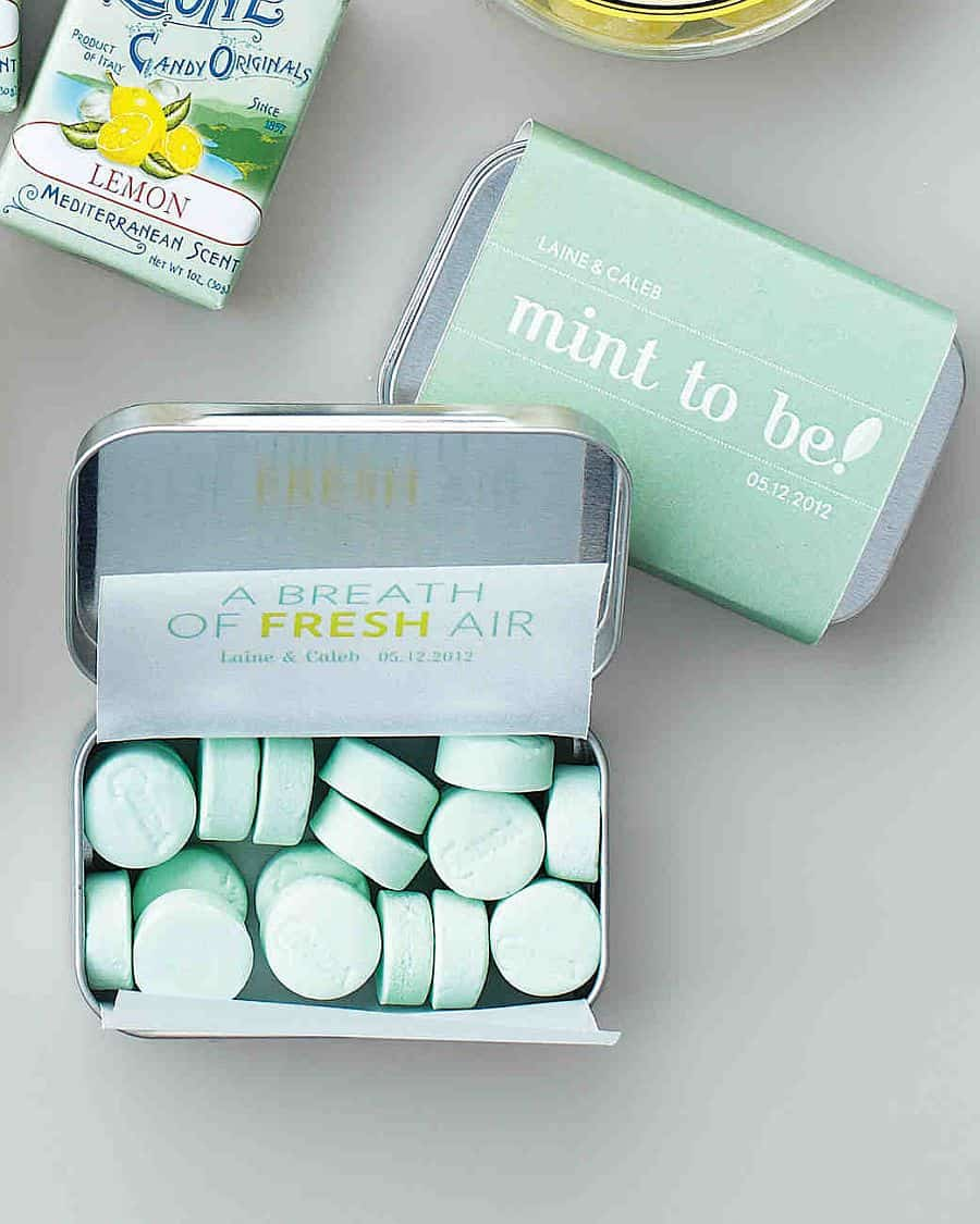 DIY Customized mint tins