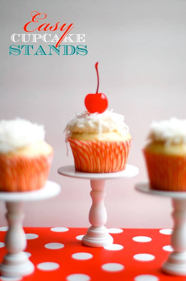 Easy cupcake stands