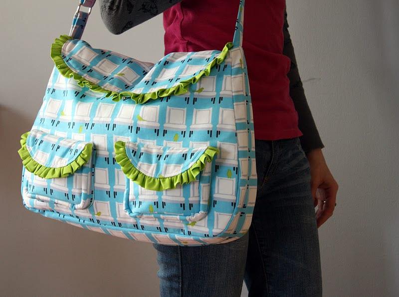 """Frou frou"" baby bag"
