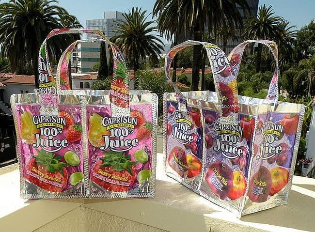 Capri Sun juice pouch bags