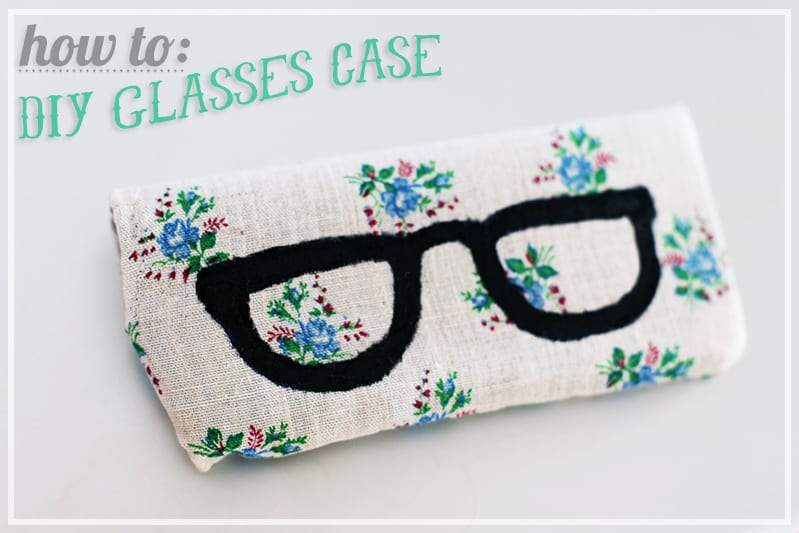 Glasses printed case