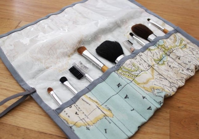 Global brush organizer