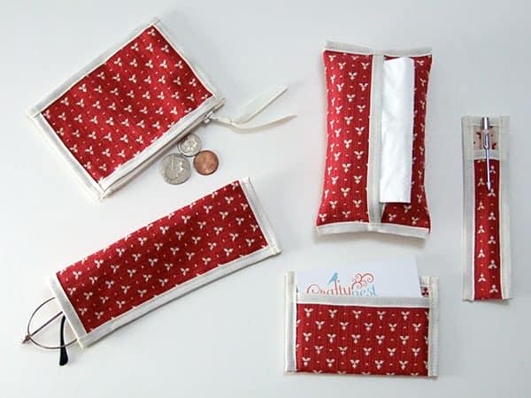 Handbag pouch set