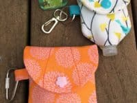 In the loop sanitizer holder 200x150 Clean Crafts: DIY Hand Sanitizer Jackets for Those On the Go!