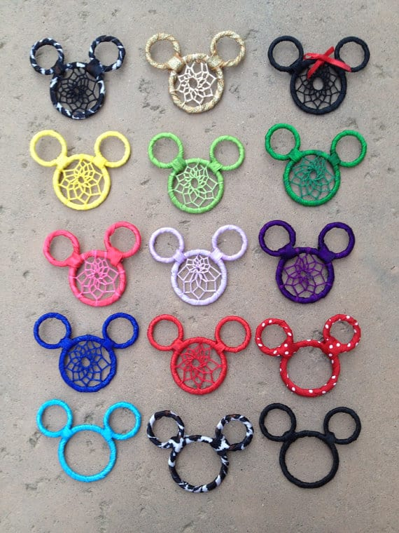 Micky Mouse dream catchers