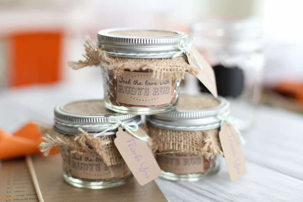 Mini spice jars