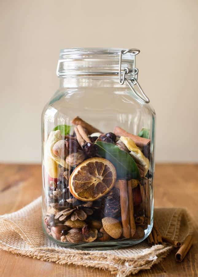 Nuts and berries potpourri