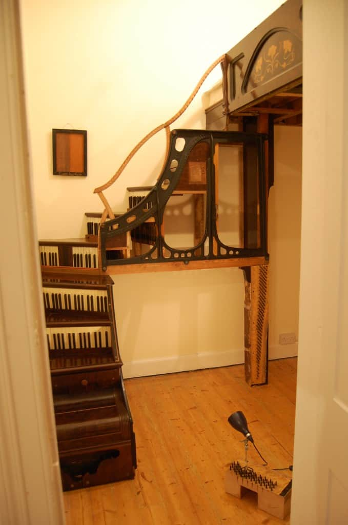 Piano part staircase