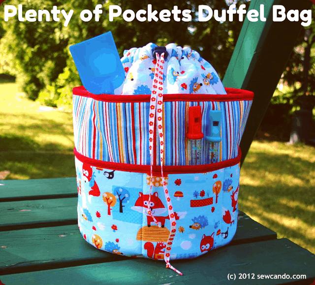 Plenty of pockets duffel bag