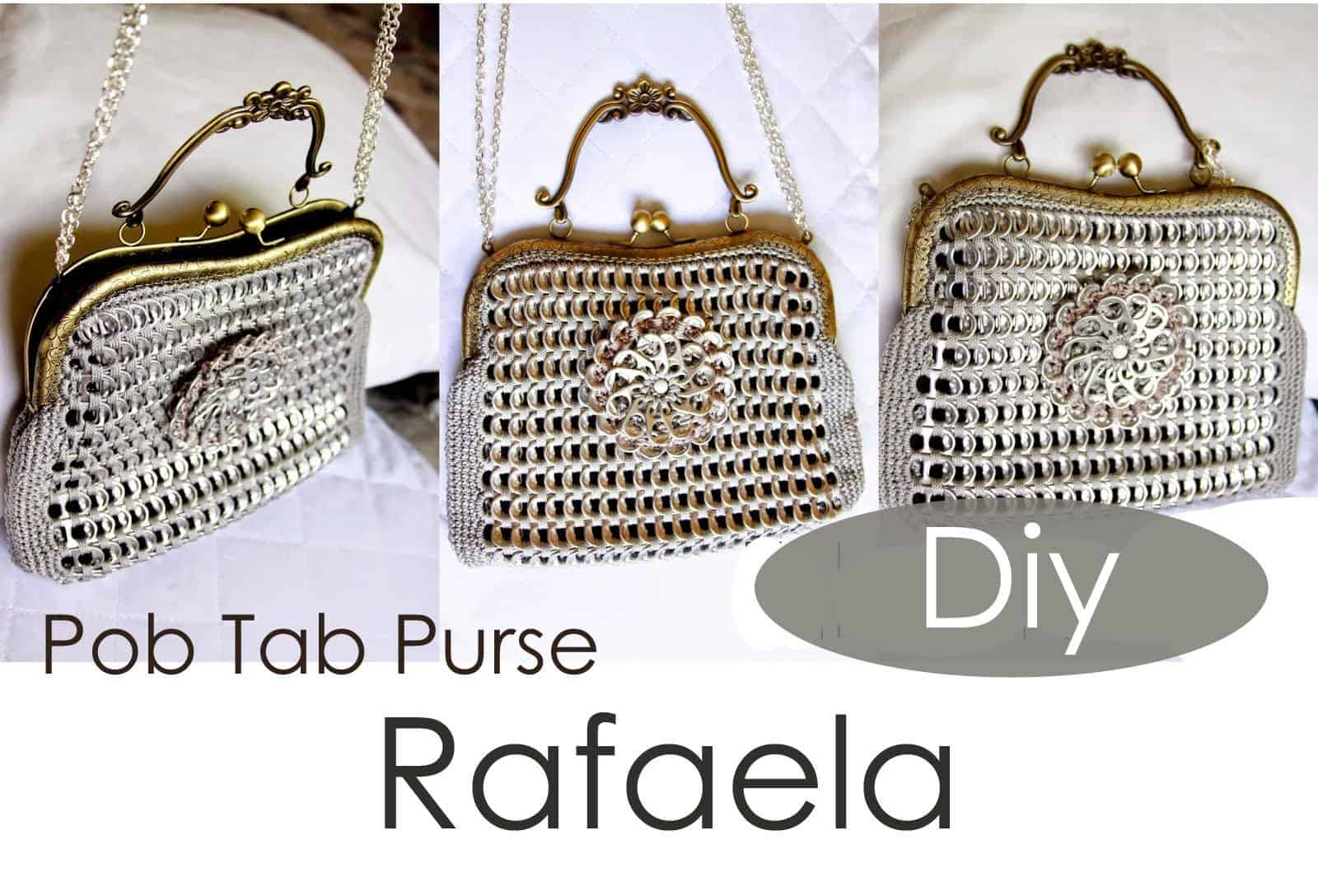 Rafaela snapping pop tab purse
