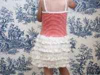 Ruffled toddler skirt 200x150 DIY Projects for Ruffle Enthusiasts