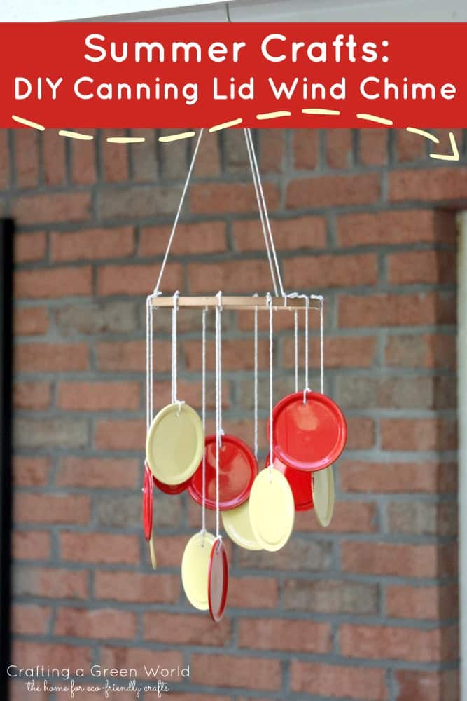 diy wind chime ghost craft 15 brilliant ways to recycle jar lids 6467
