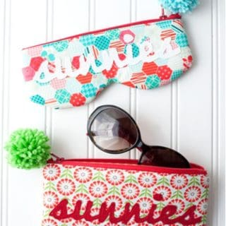 Cute DIY Glasses and Sunglasses Cases