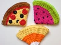 food inspired coin purses 200x150 Get Organized with These Cute Crochet Coin Purses