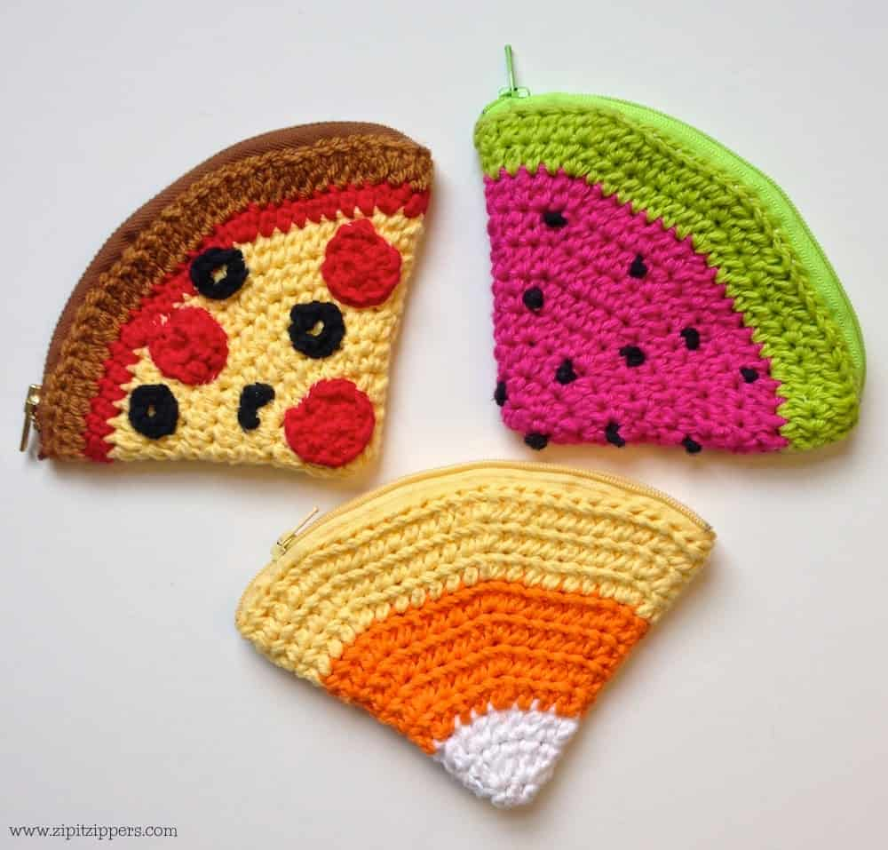 food inspired coin purses