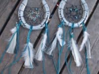 horseshoe dream catcher 200x150 Gorgeous DIY Dreamcatchers