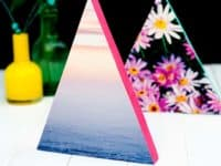 neon frame 200x150 For The Love Of Geometry: 9 DIY Triangle Projects