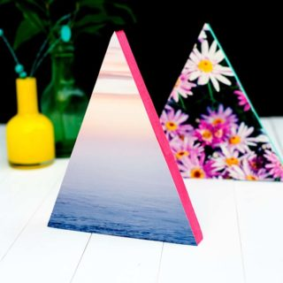 For The Love Of Geometry: 9 DIY Triangle Projects