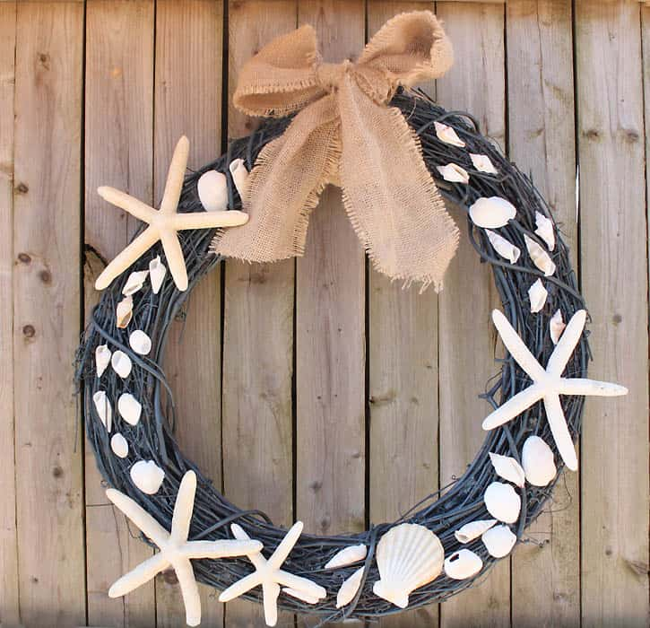 Shell wreath