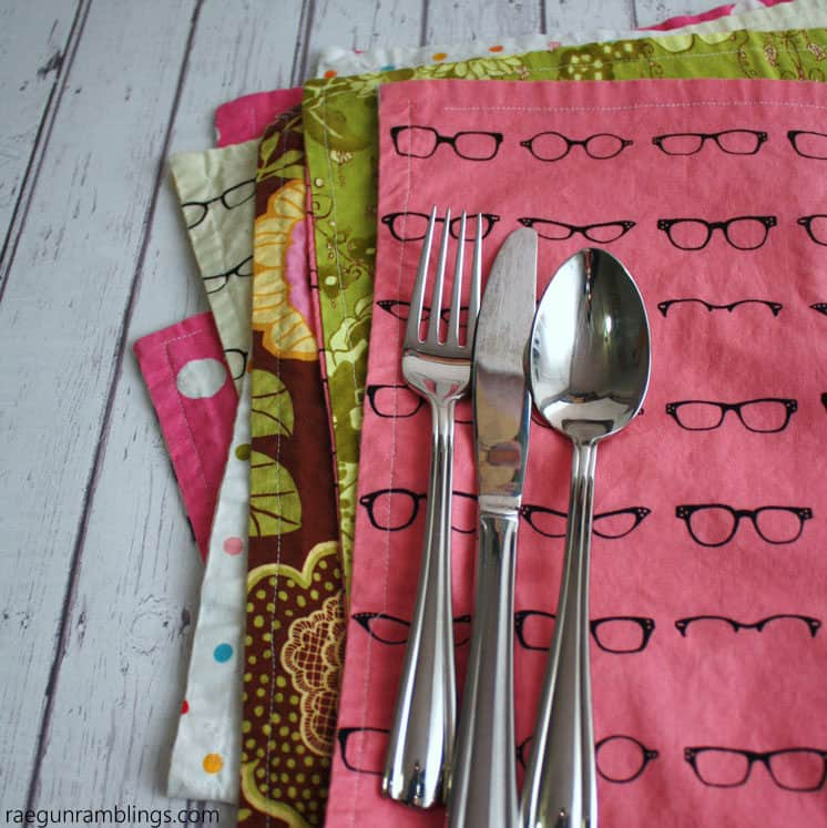 15-minute place mats