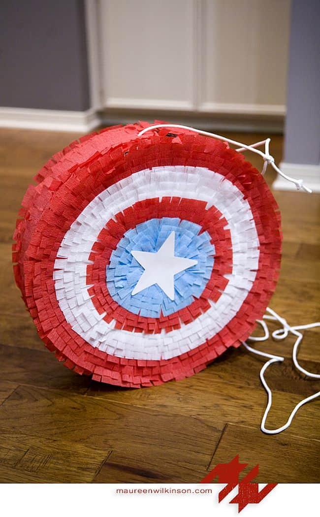 Captain America Piñata