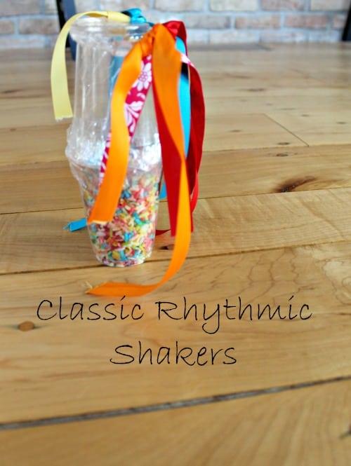 Coloured rice rhythm shaker
