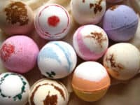 DIY scented bath bombs 200x150 Bring Home the Spa: DIY Projects That Will Help You Relax!