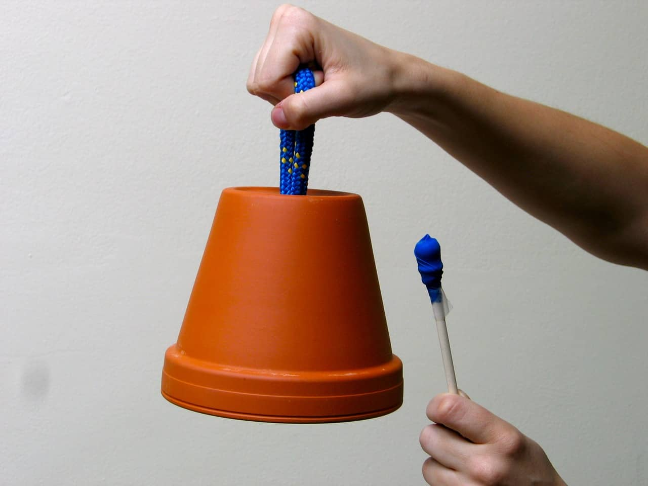 Flower pot bell