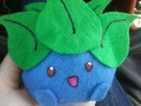 Oddish plushie 200x150 15 Pokemon Themed Crafts to Celebrate Pokemon Go