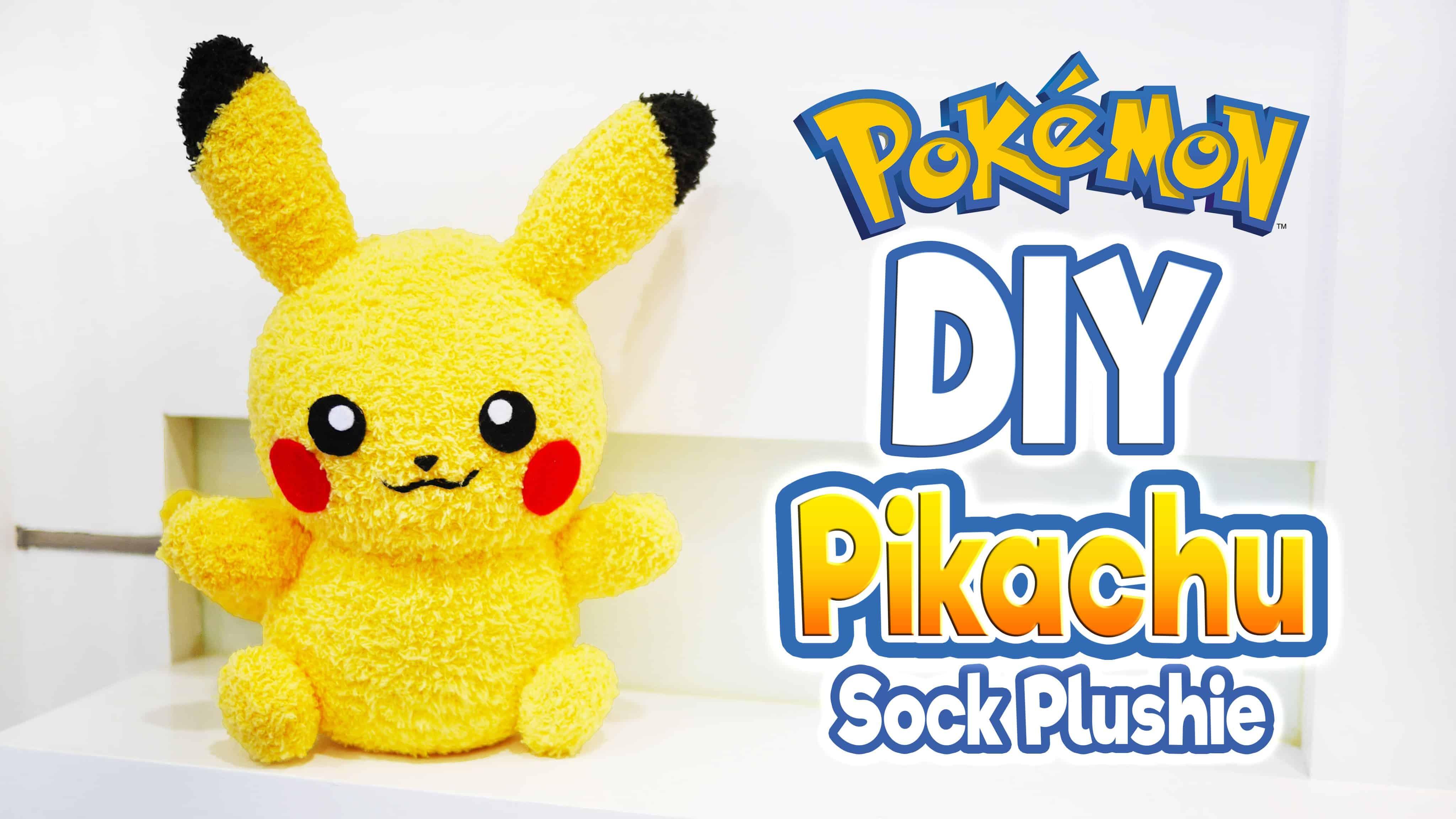 PIkachu sock plushie