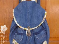 backpack 200x150 Repurposing Old Jeans: 12 DIY Denim Projects