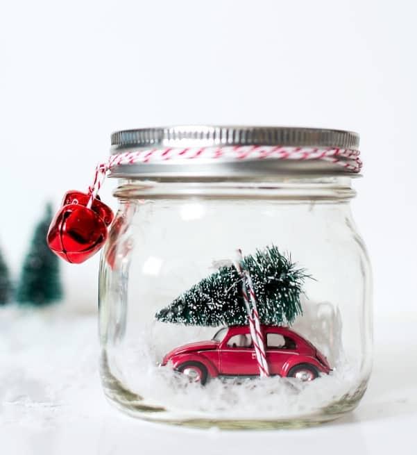 car snow globe