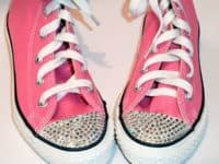 crystal sneakers 200x150 Upgrade Your Sneakers DIY Style!