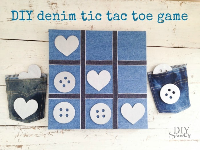 Denim game board