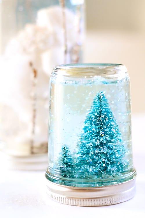 Glittery Snow Globe