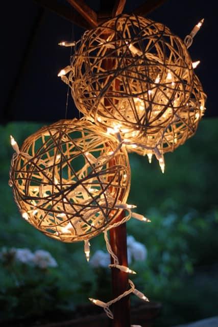 Hemp lanterns