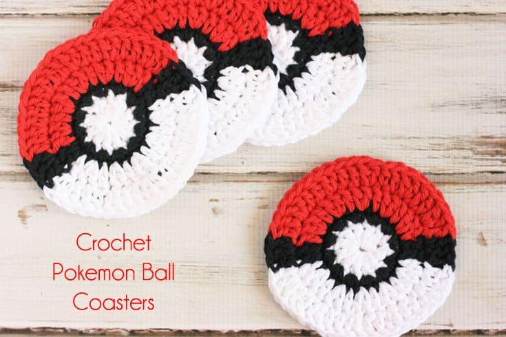 pokeball coasters