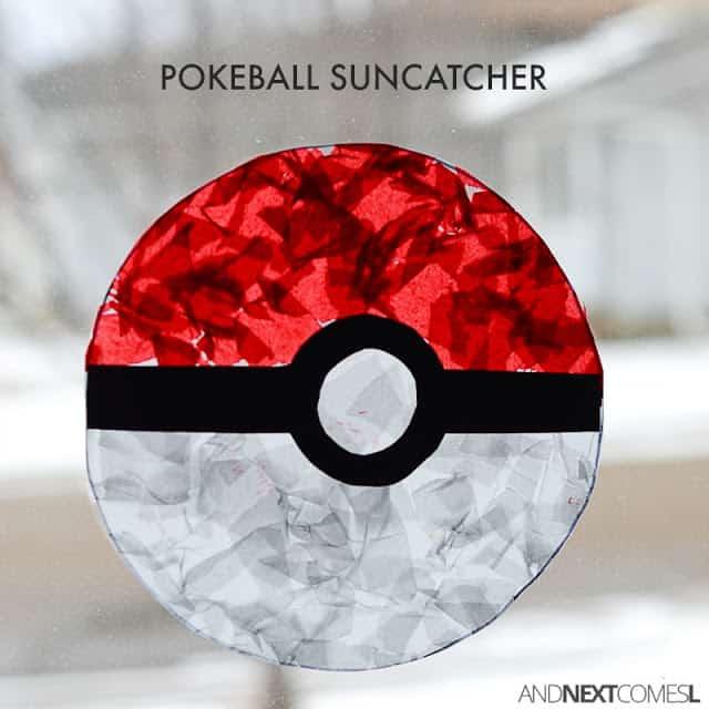 pokeball sun catcher