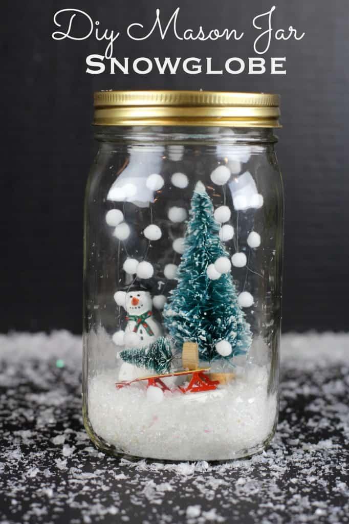 Snowflakes Snow Globe