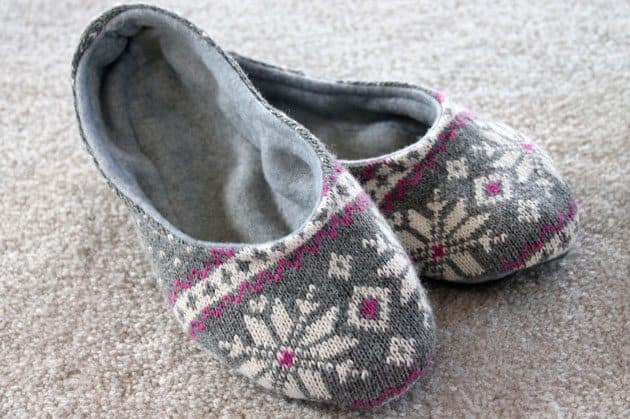 warmest slippers