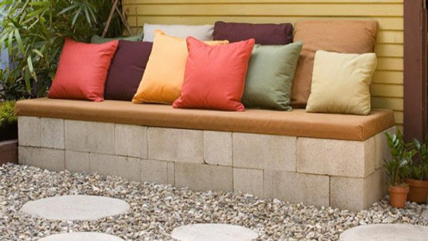 concrete-stone-patio-bench