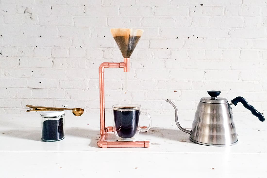diy-copper-pour-over-coffee-maker