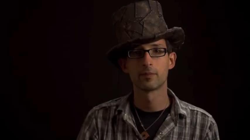 DIY steampunk top hat
