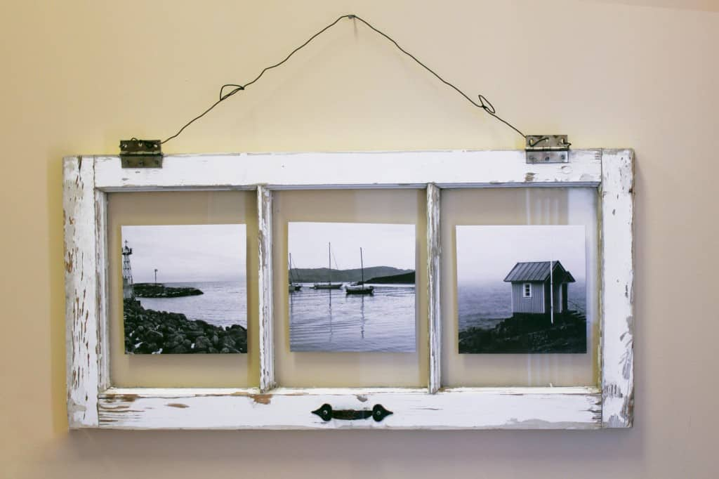 diy-window-photo-frame