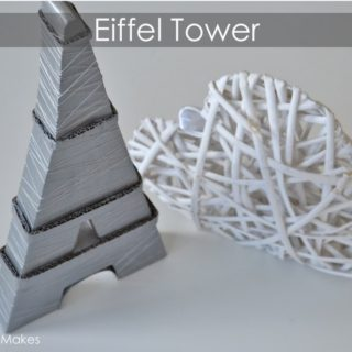 Lights, Love and Crafts: DIY Eiffel Tower Themed Projects!