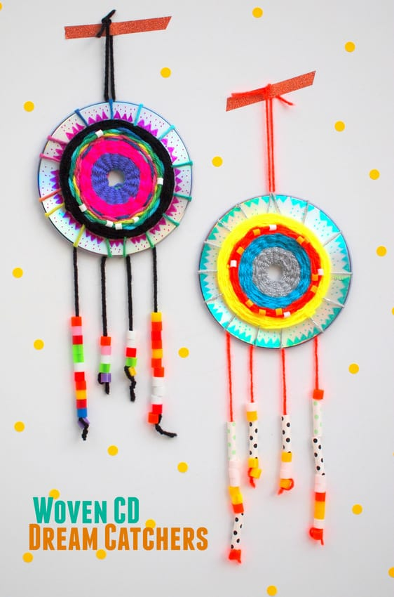 Disc dream catchers