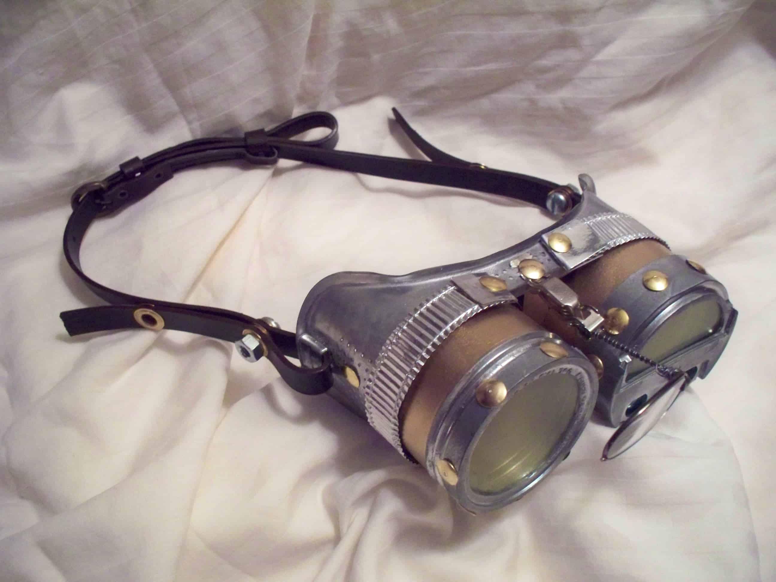 Dollar supply steampunk goggles