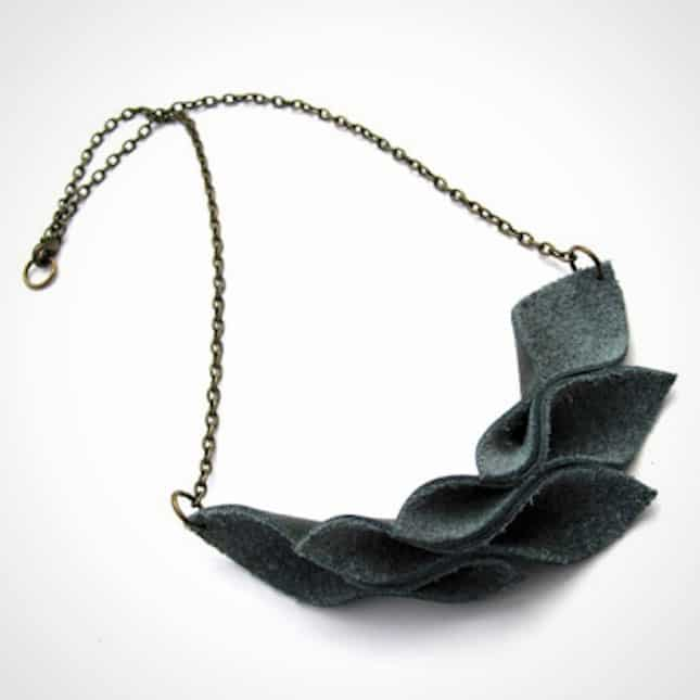 folded-leather-leaves-necklace