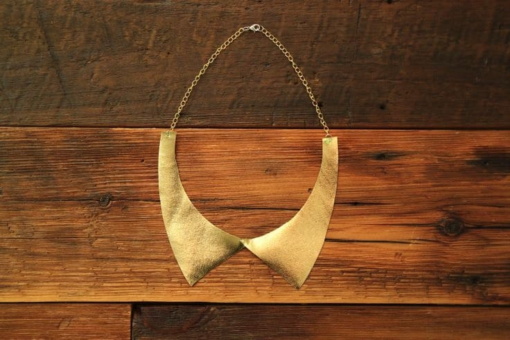 gold-leather-collar