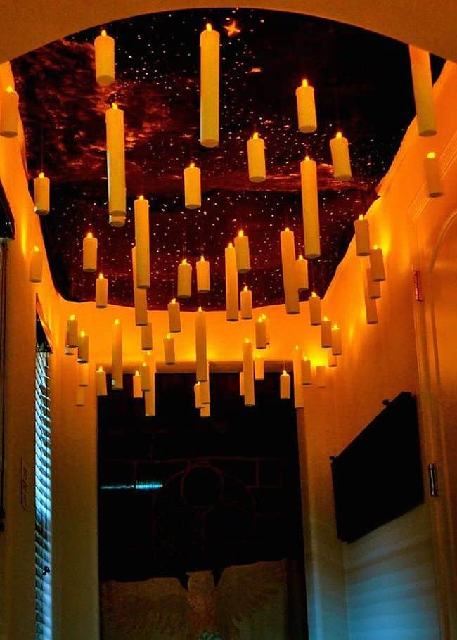 Great hall floating candles